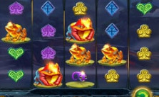 machine à sous Fire Toad disponible sur Cresus Casino